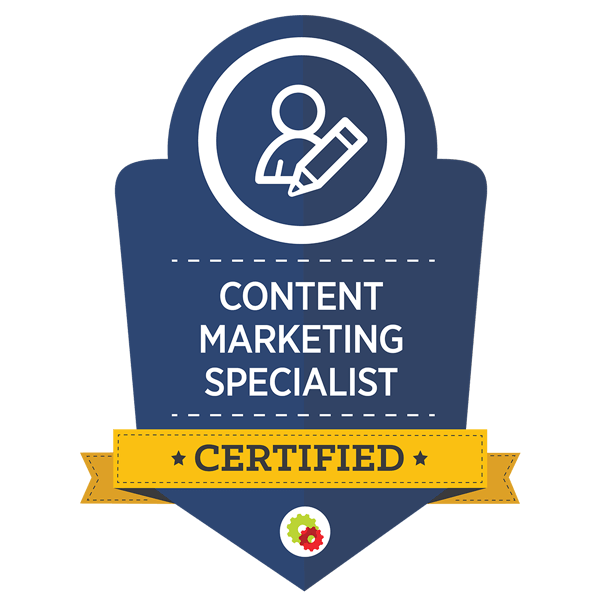 Ken Course - Certified Content Marketing Specialist
