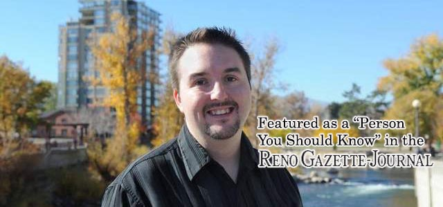 Featured in the Reno Gazette Journal - Ken Course